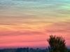 Lysende natskyer ved Silkeborg
