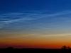 Lysende natskyer 25. juni 2009