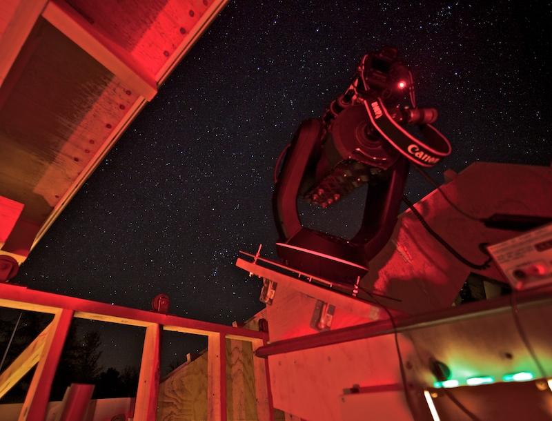 Teleskop i observatorium