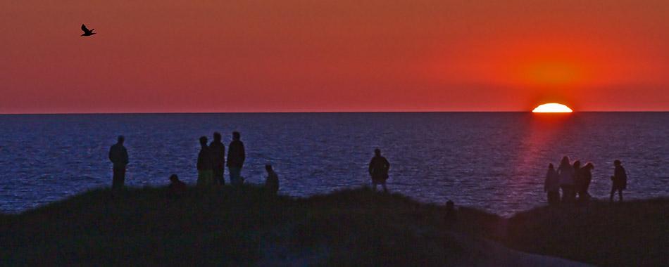 glimt-solnedgang