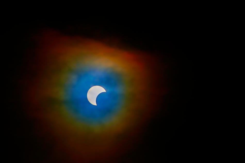 solformørkelse og korona